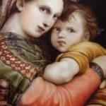エアブラシで描く名画 「小椅子の聖母」 完成