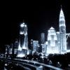エアブラシアート 夜景に挑戦