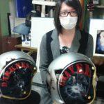 ヘルメット カスタムペイント講習