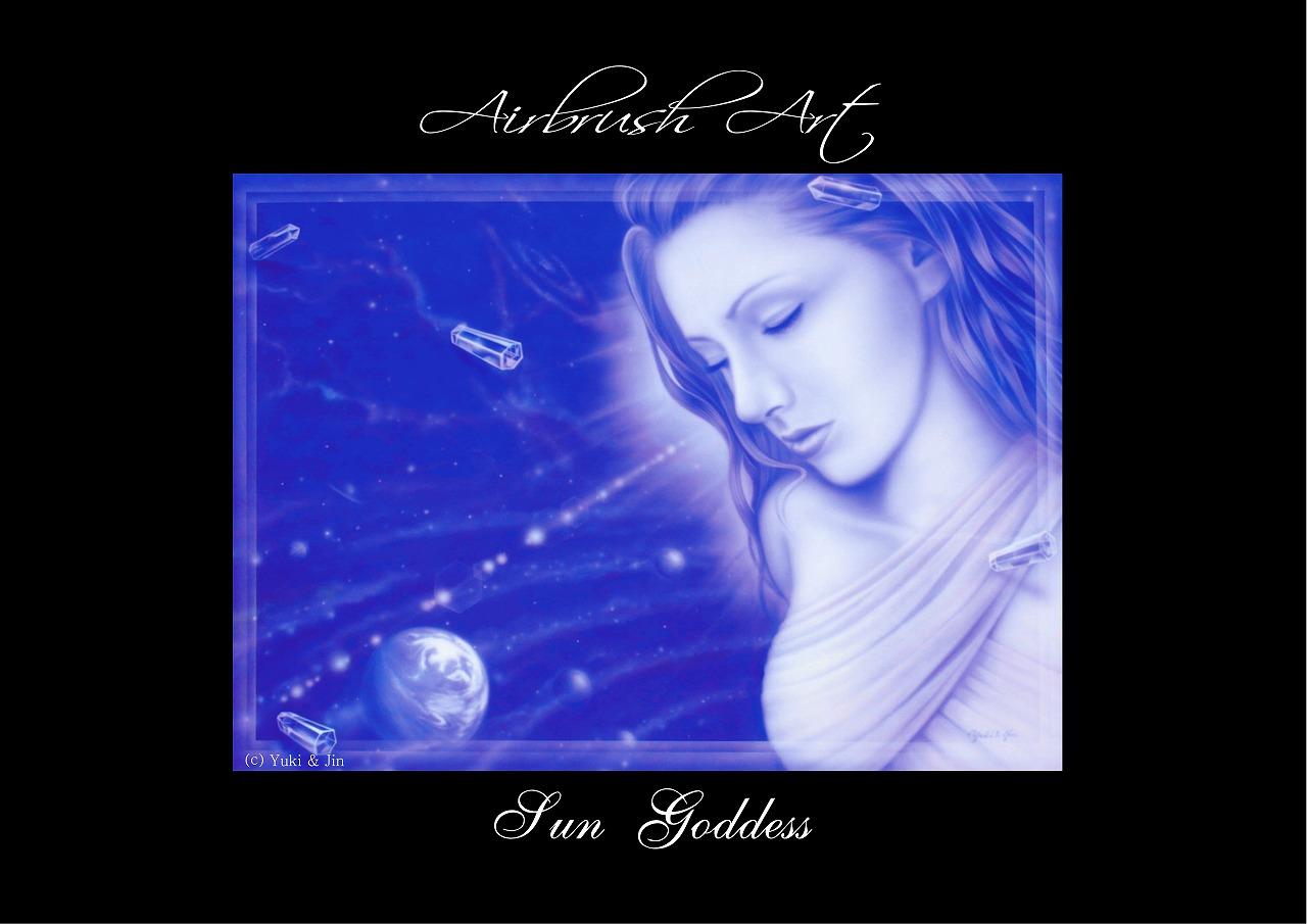 エアブラシ クリスタルシリーズ 太陽の女神