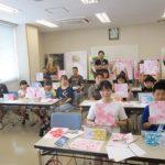 鴨島文化研修センターでエアブラシ体験教室