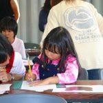 京都私立桃山南小学校で親子エアブラシ講習会をやりました