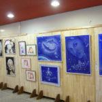 鴨島公民館 「エアブラシアート展 」