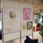 阿波銀行鴨島支店にて「エアブラシアート・似顔絵 展」開催