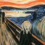 エアブラシで描く名画 「叫び」