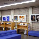阿波銀行鴨島支店にて「エアブラシアート展」